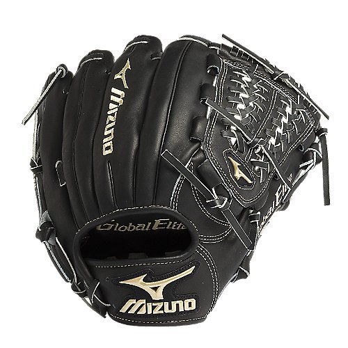 mizuno-gge5vbk-global-elite-vop-baseball-fielders-mitt-black-11-75-inch-right-handed-throw GGE5VBK-Right Handed Throw Mizuno 041969366851 The Mizuno GGE5VBK is an 11.75-Inch infielderpitchers glove made from Japanese