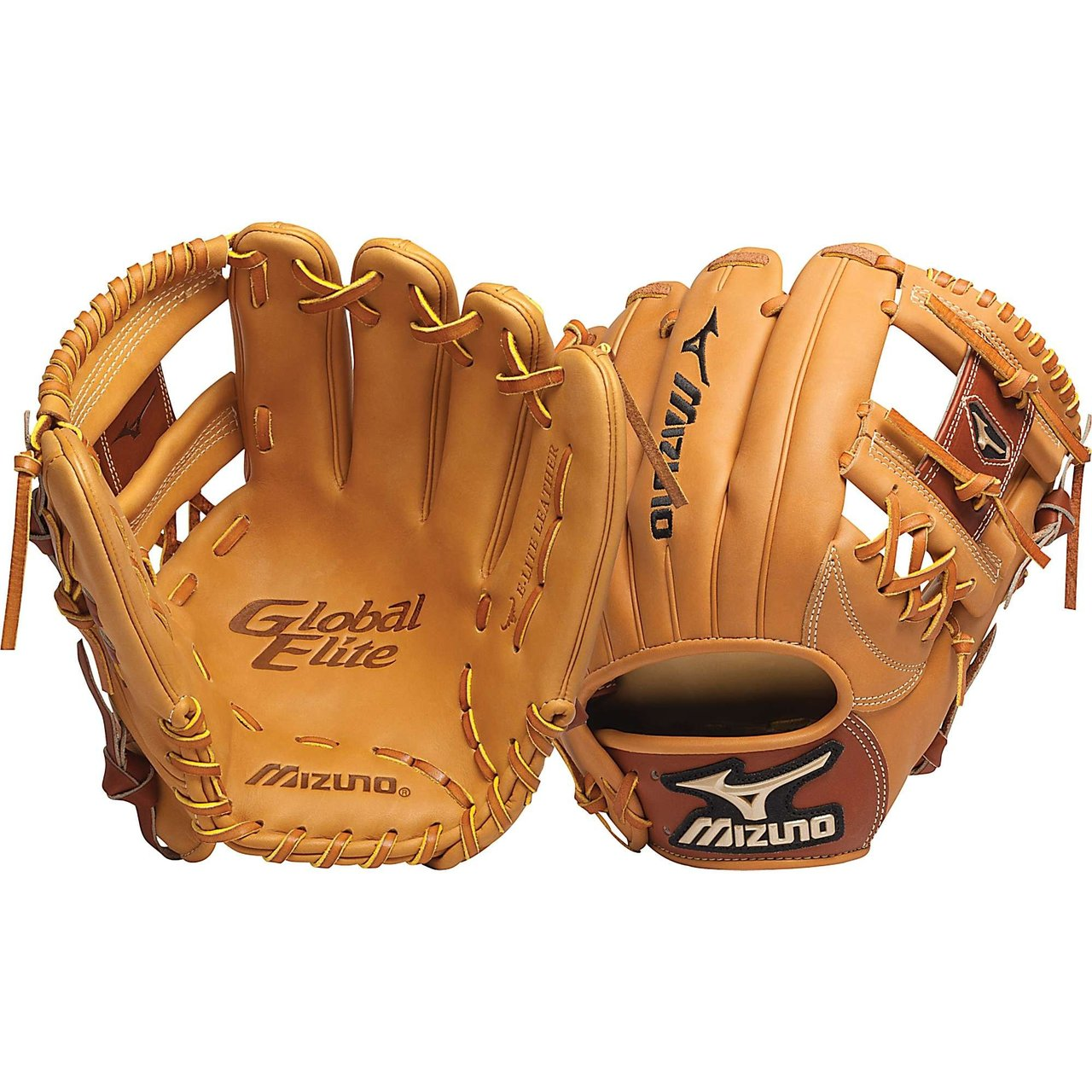 mizuno-gge60-global-elite-11-5-baseball-glove-right-handed-throw GGE60-Right Handed Throw Mizuno 041969366929 E-Lite Leather - Soft and light for the ultimate in performance.Counter