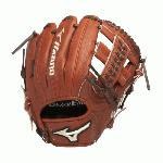 Jinama Leather- Rugged, rich, Japanese leather for extreme durability. Roll Welting- Increases structure and support throughout fingers. Polyurethane Patch. 11.50 Infield and T2 Web.