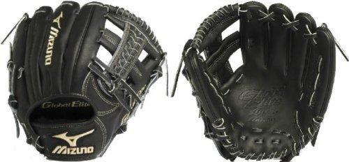 mizuno-gge60vbk-global-elite-vop-baseball-fielders-mitt-black-11-50-inch-right-handed-throw GGE60VBK-Right Handed Throw Mizuno 041969366837 The Mizuno GGE60VBK is an 11.50-Inch infielders glove made from Japanese