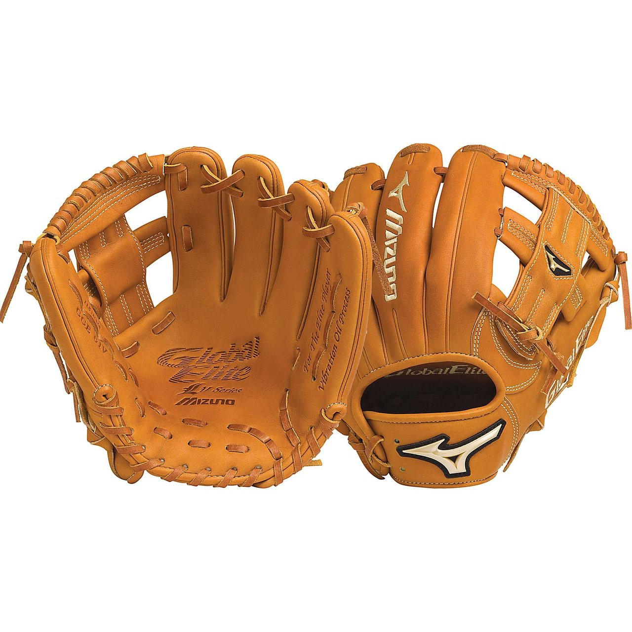 Mizuno GGE61V Global Elite VOP 11.5 Infield Baseball Glove (Right Handed Throw) : Mizuno vibration processed hand oiled leather and roll Welting which increases structure and support throughout the fingers. Rugged polyurethane patch and antimicrobial cushioned wrist pad for a secure fit. Thumb Embroidery. VOP Leather Palm.