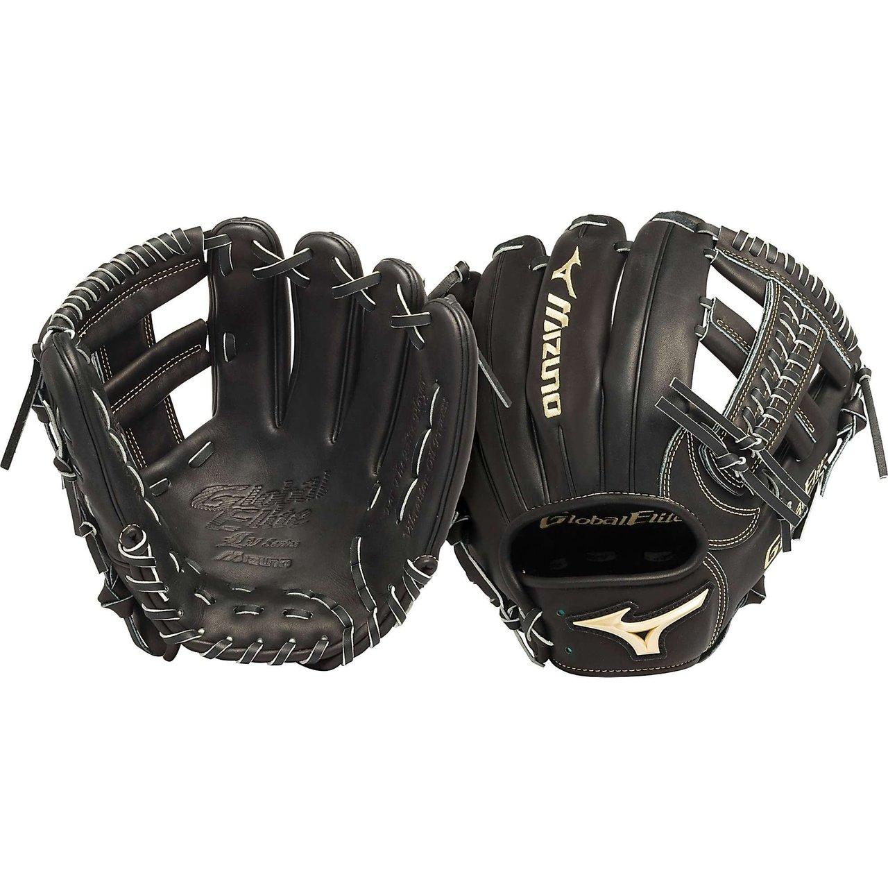 mizuno-gge61vbk-global-elite-vop-11-5-in-infield-baseball-glove-right-handed-throw GGE61VBK-Right Handed Throw Mizuno New Mizuno GGE61VBK Global Elite VOP 11.5 in Infield Baseball Glove Right