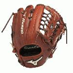 Mizuno Global Elite Jinama Baseball Glove. Jinama Leather is rugged, rich, Japanese leather for extreme durability. Roll Welting increases structure and support throughout the fingers. Polyurethane patch.