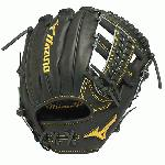 Mizuno GMP600AXBK Pro Limited Baseball Glove 11.5 inch Right Hand Throw