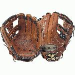The Mizuno GMVP1150B1 is an 11.50-Inch infielder's glove made from soft Bio Throwback leather and is game ready. Center Pocket designed pattern offers the most versatile break-in possible. Soft, pebbled, Bio Throwback leather for game ready performance and long lasting durability. Ultrasoft palm liner. 11 12 inch baseball infield pattern. Deep 3-V web. The MVP baseball glove line from Mizuno has been an excellent value for baseball players from the day it launched. With the latest updates to the Mizuno MVP glove line, Mizuno is establishing a dynasty on the baseball field. Center Pocket designed patterns make the MVP glove easy to break in. The Soft, pebbled, Bio Trowback leather that is used is game ready and will last you many seasons, and the Ultrasoft palm lining gives you a buttery smooth feeling inside the glove.