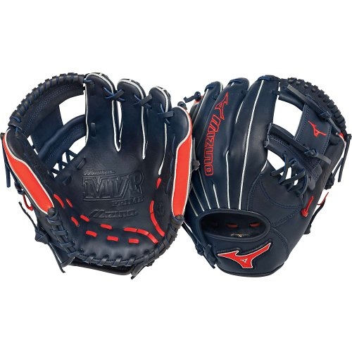 mizuno-gmvp1154pse2-infield-mvp-prime-baseball-glove-11-5-navy-red-right-handed-throw GMVP1154PSE2-NavyRedRightHandedThrow Mizuno 041969459058 Mizuno MVP Prime Baseball Glove. Mizuno MVP Prime SE Baseball Glove