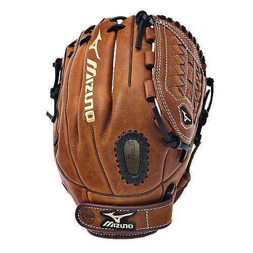 mizuno-gmvp1175f1-mvp-fastpitch-11-75-softball-glove-right-handed-throw GMVP1175F1-Right Handed Throw Mizuno 041969371275 Soft pebbled Bio Throwback leather for game ready performance and long
