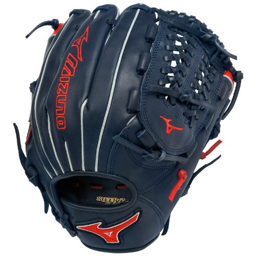 mizuno-gmvp1177pse2-baseball-glove-mvp-prime-11-75-inch-navy-red-right-hand-throw GMVP1177PSE2-NavyRedRightHandThrow Mizuno 041969459133 Mizuno MVP Prime 11.75 inch Baseball Glove. 11.75 Inch Baseball Infield
