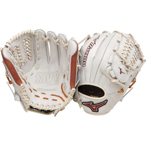 mizuno-gmvp1177pse2-baseball-glove-mvp-prime-11-75-inch-silver-brown-right-hand-throw GMVP1177PSE2-SilverBrownRight HandThrow Mizuno 041969459119 Mizuno MVP Prime 11.75 inch Baseball Glove.