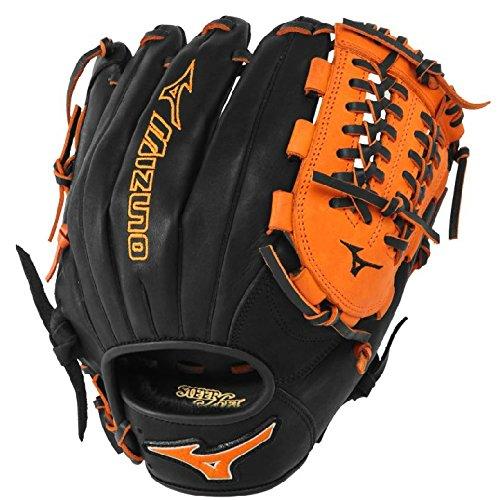 mizuno-gmvp1177pse3-baseball-glove-11-75-inch-black-orange-right-hand-throw GMVP1177PSE3-Black-OrangeRightHandThrow Mizuno New Mizuno GMVP1177PSE3 Baseball Glove 11.75 inch Black-Orange Right Hand Throw