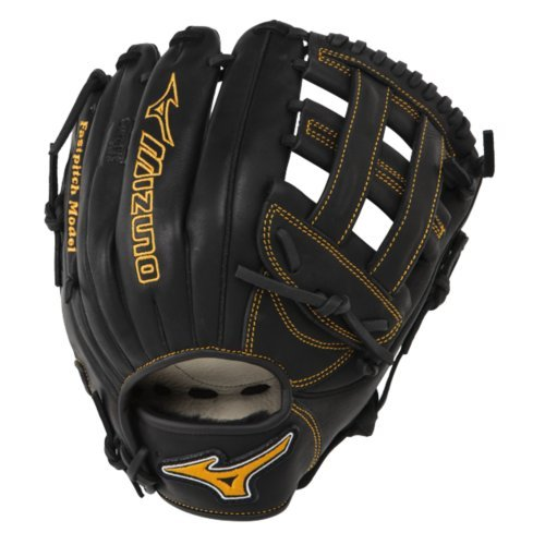 Mizuno MVP Prime Fastpitch with Oil Plus Leather, a perfect balance of oiled softness for exceptional feel & control.