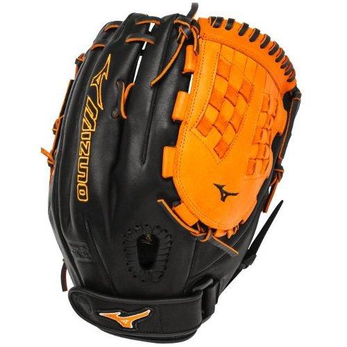 mizuno-gmvp1250psef3-fastpitch-softball-glove-12-5-inch-black-orange-right-hand-throw GMVP1250PSEF3-Black-OrangeRightHandThrow Mizuno New Mizuno GMVP1250PSEF3 Fastpitch Softball Glove 12.5 inch Black-Orange Right Hand Throw