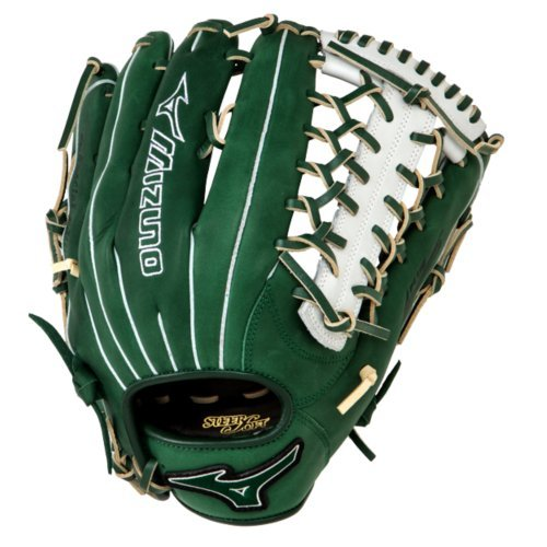 mizuno-gmvp1277pse3-mvp-prime-baseball-glove-12-75-inch-forest-silver-right-hand-throw GMVP1277PSE3-Forest-SilverRightHandThrow Mizuno  Mizuno GMVP1277PSE3 MVP Prime Baseball Glove 12.75 inch Forest-Silver Right Hand