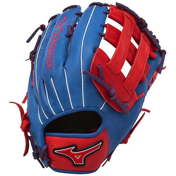 mizuno-gmvp1300pses4-mvp-prime-se-mitts-royal-red-right-hand-throw GMVP1300PSES4-ROYAL-RED-RightHandThrow Mizuno 041969558539 13.00 Inch Pattern Bio Soft Leather - Pro-Style Smooth Leather That