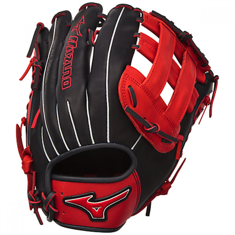 mizuno-gmvp1300pses4-mvp-prime-softball-glove-se-mitts-navy-red-right-hand-throw GMVP1300PSES4-NAVY-RED-RightHandThrow Mizuno 041969558522 13.00 Inch Pattern Bio Soft Leather - Pro-Style Smooth Leather That