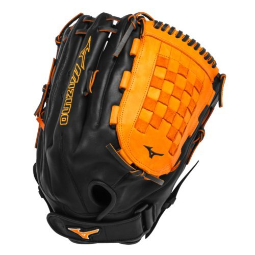mizuno-gmvp1400pses3-slowpitch-softball-glove-14-inch-black-orange-right-hand-throw GMVP1400PSES3-Black-OrangeRightHandThrow Mizuno New Mizuno GMVP1400PSES3 Slowpitch Softball Glove 14 inch Black-Orange Right Hand Throw