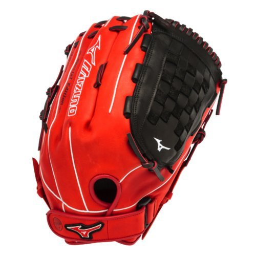 mizuno-gmvp1400pses3-slowpitch-softball-glove-14-inch-red-black-right-hand-throw GMVP1400PSES3-Red-BlackRight Hand Throw Mizuno New Mizuno GMVP1400PSES3 Slowpitch Softball Glove 14 inch Red-Black Right Hand Throw