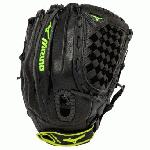 Mizuno prospect series softball glove for youth girl softball players.