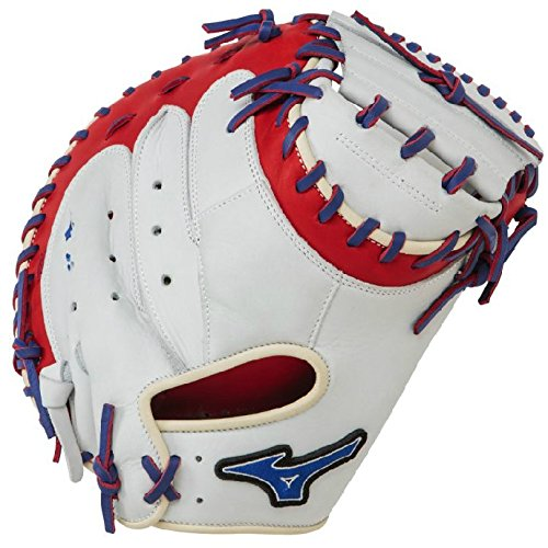 mizuno-gxc50pse3-catchers-mitt-34-inch-mvp-prime-silver-red-royal-right-hand-throw GXC50PSE3-Silver-Red-RoyalRghtHandThrow Mizuno New Mizuno GXC50PSE3 Catchers Mitt 34 inch MVP Prime Silver-Red-Royal Right Hand