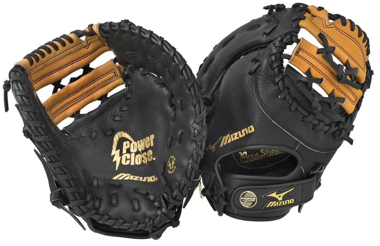 Mizuno has firstbase mitts to meet the needs of any level player. From the glove easy to close for youth players, all the way up to Pro Level mitts trusted by MLB greats such as Todd Helton, Mizuno firstbase mitts offer unmatched protection, fit, and performance