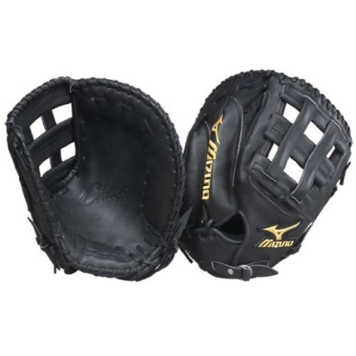 Mizuno Classic Pro Series Gloves Firstbase Mitt. Mizuno has firstbase mitts to meet the needs of any level player. From the glove easy to close for youth players, all the way up to Pro Level mitts trusted by MLB greats such as Todd Helton, Mizuno firstbase mitts offer unmatched protection, fit, and performance.