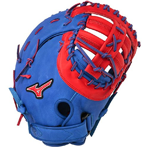 mizuno-gxf50pse3-mvp-prime-first-base-mitt-13-inch-royal-red-right-hand-throw GXF50PSE3-Royal-RedRight Hand Throw Mizuno New Mizuno GXF50PSE3 MVP Prime First Base Mitt 13 inch Royal-Red Right