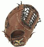 The Mizuno GXF57 is a 13.00-Inch Pro sized first basemen's mitt made from soft Bio Throwback leather and is game ready right away. Since 1906 the Mizuno glove masters that design Mizuno Baseball Gloves have continued to discover innovative materials and technologies that enrich the baseball and softball experience. Mizuno combines the finest materials in the world with hand craftsmanship and revolutionary designs, providing baseball players with a competitive advantage, and helping baseball players of all abilities perform at their very best on the field. High performance catcher's mitts for the fastpitch athlete featuring innovative technologies like Power Lock for the most secure fit available and ParaShock palm pad for shock absorption. ParaShock - Three finger Channels that customize the fit to your hand. 13 Inch Full Sized.