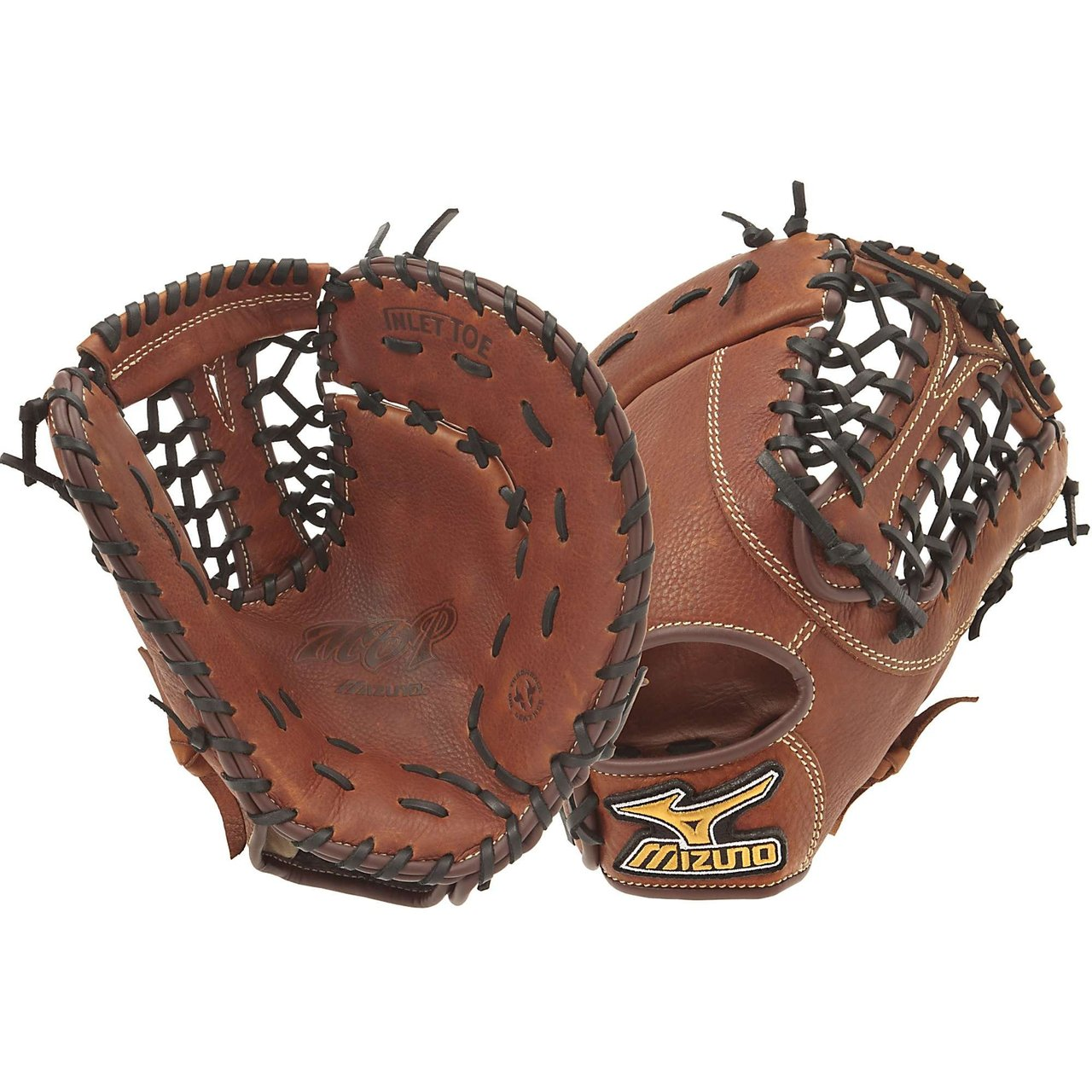 The Mizuno GXF57 is a 13.00-Inch Pro sized first basemen's mitt made from soft Bio Throwback leather and is game ready right away.