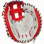 Mizuno MVP Prime SE GXC50PSE4 34 inch Catchers Mitt is offered in seven different color-combinations. Smooth Bio Soft leather provides better control and feel with its perfect balance of oil and softness. Durable, professional-style lace helps to make the GXC50PSE4 longer-lasting and is two-toned to match the colors of the glove for a great look. Its open web design allows for a lighter weight and easier break-in. The Mizuno MVP Prime SE Series will help to heighten your performance behind the plate.
