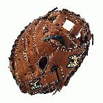 The Mizuno GXS57 is a 34.00-Inch full sized fast pitch catcher's mitt made from soft Bio Throwback leather and is game ready.