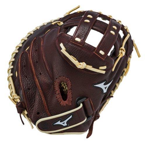 mizuno-gxs90f1-franchise-fast-pitch-catchers-mitt-34-inch-left-hand-throw GXS90F1-Left Hand Throw Mizuno 041969126622 34 Inch Fastpitch Catchers Model. Closed Back. PowerLock Wrist Closure Pre-Oiled
