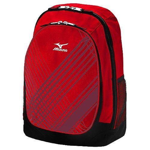 mizuno-lightning-day-pack-red 470123-Red Mizuno New Mizuno Lightning Day Pack Red  The Lightning Daypack features Mizunos