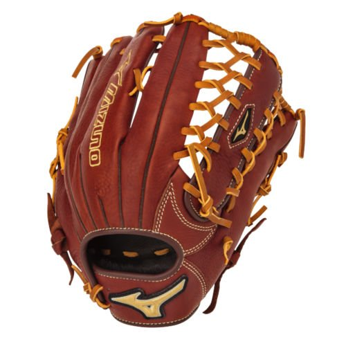 mizuno-mvp-baseball-glove-brick-dust-1275-right-hand-throw GMVP1275B2-RightHandThrow Mizuno 041969557747 12.75 - Outfield - Ichiro Web Bio Throwback Leather - Soft