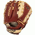 MVP Fastpitch Glove Features: Center Pocket Designed Patterns BioThrowback Leather Ultra Soft Palm Liner V-Flex Notch PowerLock Double Hinge Heel Professional Level Lace 12.5 Utility Pattern Closed Web (Tartan II)