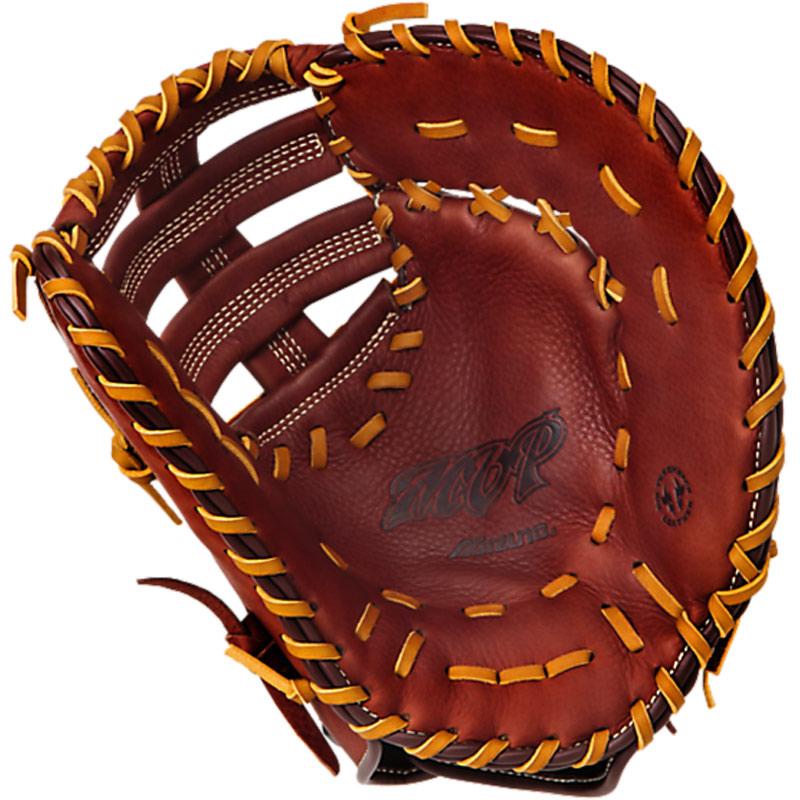mizuno-mvp-first-baseman-mitt-brick-dust-13-left-hand-throw GXF58-Left Handed Throw Mizuno 041969562086