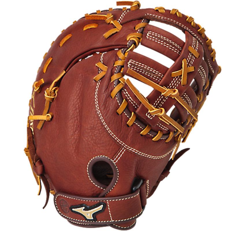mizuno-mvp-first-baseman-mitt-brick-dust-13-right-hand-throw GXF58-Right Handed Throw Mizuno B00XQ998PA