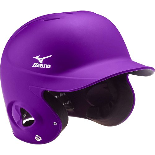 mizuno-mvp-g2-mbh200-adult-fitted-batters-helmet-380224-black-medium 380224-BlackMedium Mizuno 041969368848 Small 6 3/4 - 7 Medium 7 - 7 1/4 Large
