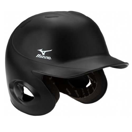 Mizuno MVP G2 MBH200 Adult Fitted Batter's Helmet 380224 (Black, Small) : Small: 6 3/4 - 7 Medium: 7 - 7 1/4 Large: 7 1/4 - 7 1/2 X Large: 7 1/2 - 7 3/4