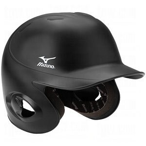 mizuno-mvp-g2-mbh200-adult-fitted-batters-helmet-380224-black-xl 380224-BlackXL Mizuno 041969368862 Mizuno MVP G2 MBH200 Adult Fitted Batters Helmet 380224 Black XL