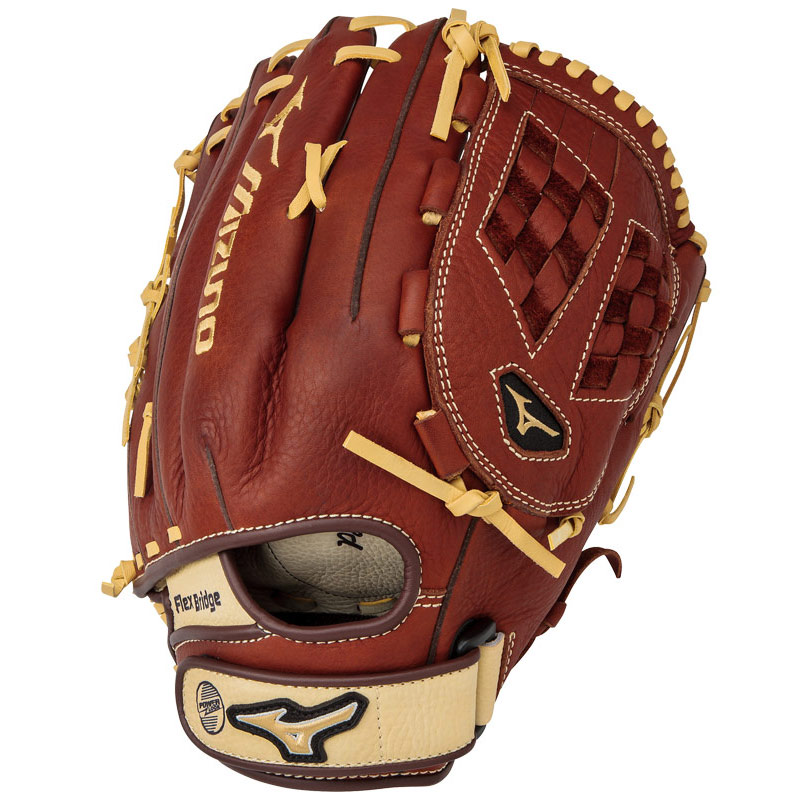 mizuno-mvp-gmvp1300f2-13-adult-womens-outfield-fastpitch-softball-glove-right-hand-throw GMVP1300F2-Right Handed Throw Mizuno 041969558331 BioThrowback Leather Soft pebbled leather for game ready performance and long