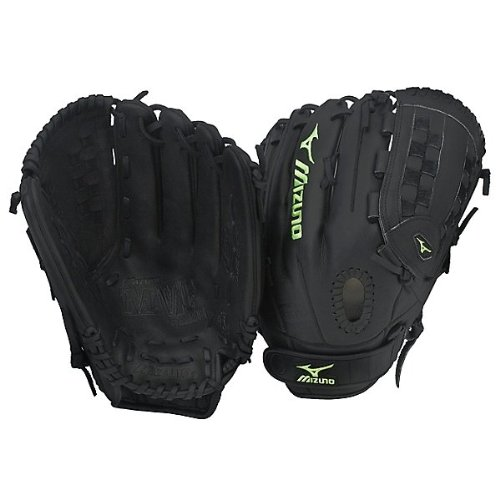 Mizuno MVP Prime Fast Pitch 12.75 inch Softball Glove (Left Handed Throw) : Mizuno Prime Fast Pitch Softball Gloves created specifically for the female athlete the MVP Series features fastpitch softball specific patterns and the ultimate in feel from game ready select smooth professional style oil soft leather and UltraSoft palm lining. The Prime leather is a smooth professional style oiled, full grain American Steerhide that provides the game ready flexibility, remarkable texture, and maximum durability that the serious player demands. Ultra Soft Palm Lining, Power Lock, V-flex, and Power and a Double Hinge Heel are features which have been added to this model to provide the most secure fit and create an extra wide pocket with ease of closure. Combine select materials with professional style patterns and the outcome is the MVP! Each Mizuno Pro ball glove is handcrafted to the highest quality control standards by certified Mizuno Glove Technicians in Mizunos own ISO9001 certified facility in Shanghai, China. All glove craftsmen have been through a rigorous certification process overseen by Master Craftsmen Kosaku Kishumoto (fielders gloves) and Kuni Nakamura (mitts) who together have over 65 years of experience making ball gloves. Mizuno: Your passion is our obsession.