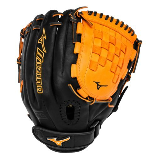 mizuno-mvp-prime-fast-pitch-gmvp1200psef3-12-inch-softball-glove-black-orange-right-hand-throw GMVP1200PSEF3-Black-OrangeRightHandThrow Mizuno New Mizuno MVP Prime Fast Pitch GMVP1200PSEF3 12 inch Softball Glove Black-Orange
