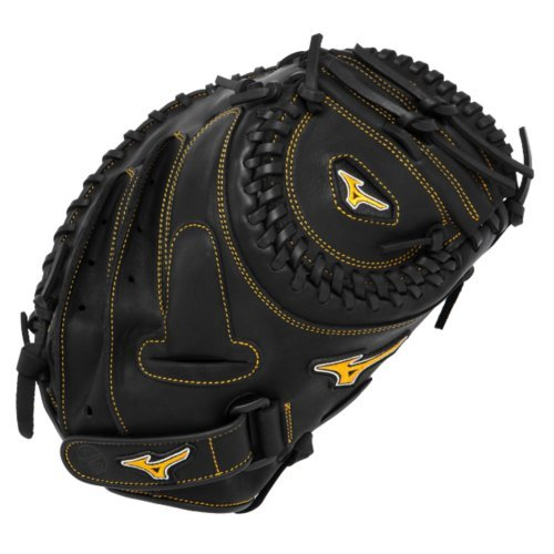 mizuno-mvp-prime-fastpitch-34-in-gxs50pf1-catchers-mitt-left-hand-throw GXS50PF1-Left Hand Throw Mizuno 041969125649 The Mizuno GXS50PF1 MVP Prime fast pitch catchers mitt is made