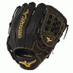 Mizuno MVP Prime GMVP1200P1 Baseball Glove 12 inch (Right Hand Throw) : Smooth professional style oil soft plus leather is the perfect balance of oiled softness for exceptional feel and firm control that serious players demand. Outlined, embroidered logo. Center pocket design patterns plus grip thumb for added comfort.