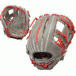 Mizuno MVP Prime SE 11.5 Inch GMVP1154PSE5 Baseball Glove Smoke Red Right Hand Throw