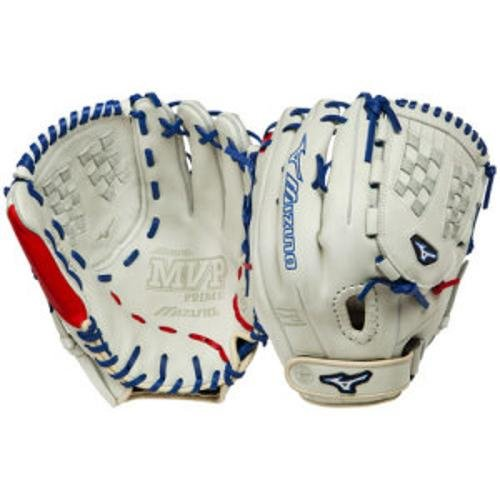 Mizuno MVP Prime SE 12.50 Inch Fastpitch Softball Fielder's Mitt (SilverRed, Right Handed Throw) : The Mizuno GMVP1250PSEF1 is a 12.50 inch fast pitch pitcheroutfielder's glove that features Oil Plus leather for exceptional feel and firm control. The Power Lock closure provides the quickest and most secure fit available.
