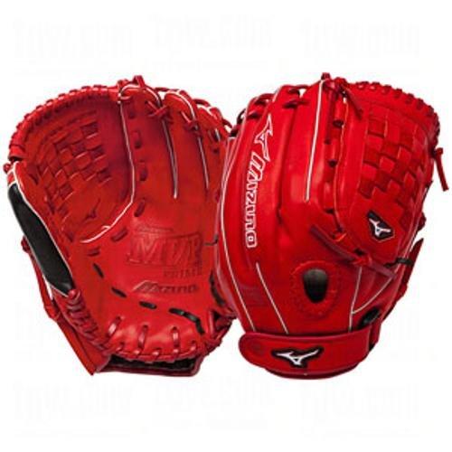 mizuno-mvp-prime-se-1200-inch-baseball-fielders-mitt-red-black-right-hand GMVP1200PSEF1-RedBlackRight HandThrow Mizuno 041969459270 Mizuno MVP Prime SE Fast Pitch Softball Glove