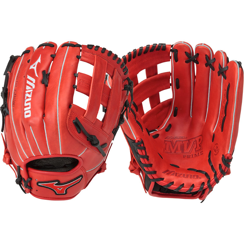 mizuno-mvp-prime-se-13-inch-gmvp1300pses5-slowpitch-glove-red-black-right-hand-throw GMVP1300PSES5-RDBK-RightHandThrow Mizuno 889961060083 The Special Edition MVP Prime Slowpitch Series lives up to Mizunos
