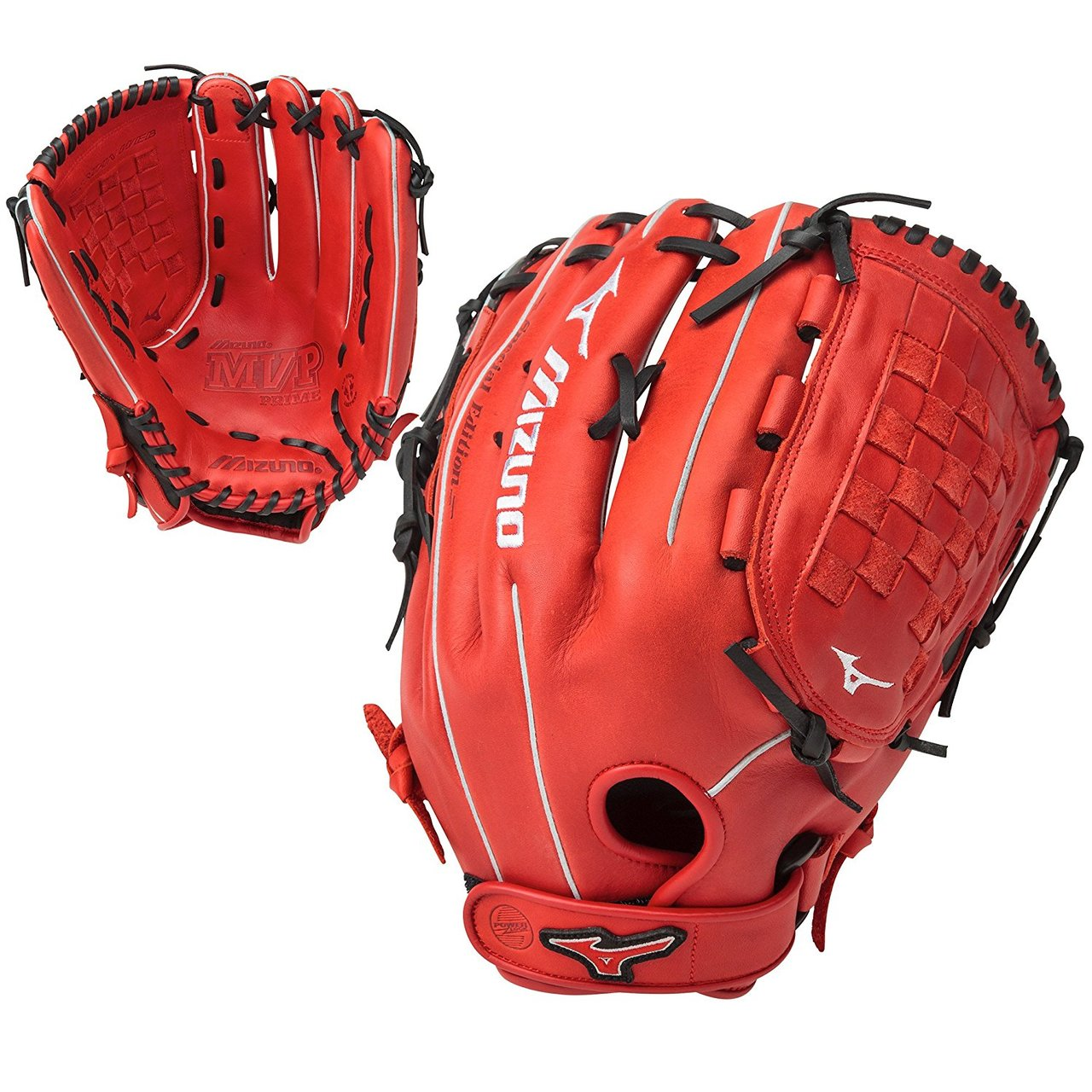 mizuno-mvp-prime-se-14-inch-gmvp1400pses5-slowpitch-glove-red-black-right-hand-throw GMVP1400PSES5-RDBK-RightHandThrow Mizuno 889961060144 The Special Edition MVP Prime Slowpitch Series lives up to Mizunos