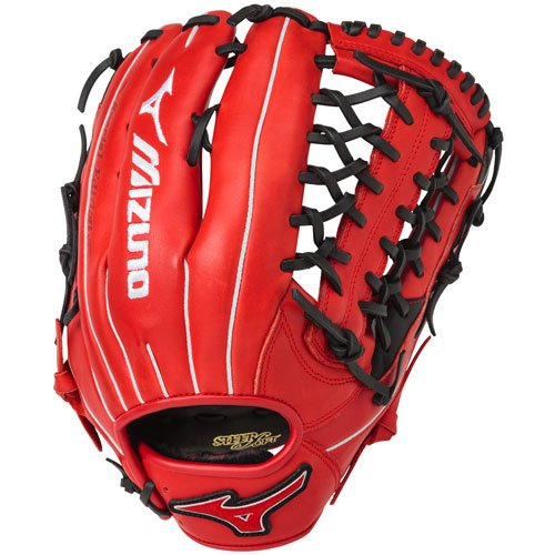mizuno-mvp-prime-se-baseball-glove-red-black-12-75-right-hand-throw GMVP1277PSE5-RDBK-RightHandThrow Mizuno 889961059339 The Mizuno MVP Prime special edition ball glove features a new